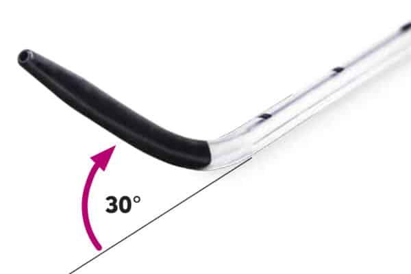 Surfcath surfactant catheter tip close up